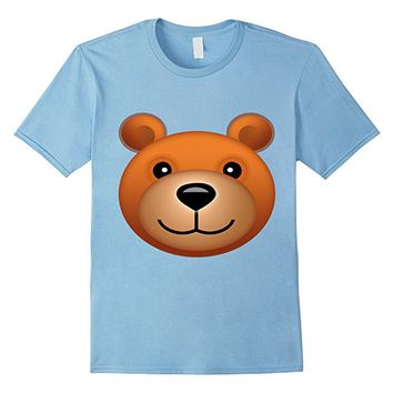Teddy bear Emoji Halloween Costume Bear Face Emoji