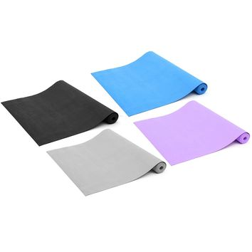Fitness Non Slip Yoga Mats Pad EVA Foam Gym Mats Sport Mat Pilates For Body Building Exercise Workout 3mm Thickness