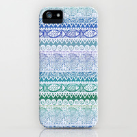 Sea of Stripes iPhone & iPod Case by Janet Broxon