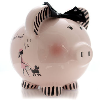 Bank Miss Madeleine Piggy Bank Bank