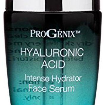 Progenix Hyaluonic Acid Face Serum. Intense hydrating serum with Hyaluronic Acid, Organic Aloe Vera,...