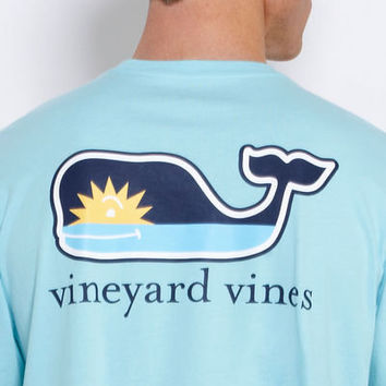 Mens T-Shirts: Short Sleeve Graphic T-Shirt - Antiqua Whale – Vineyard Vines