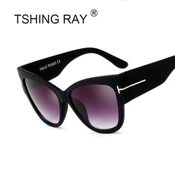 TSHING RAY Designer Cat Eye Sunglasses