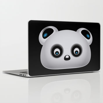 Panda Bear Laptop & iPad Skin by VanessaGF
