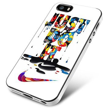 NIKE JUST DO IT TIP DROPPING MELT iPhone 5 | 5S | 5SE Case Planetscase.com