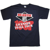 Beastie Boys: Licensed To Ill Tour Shirt - Navy /