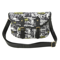 DC Comics Batman Classic Canvas Crossbody Bag