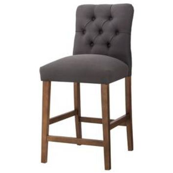 "Threshold™ Brookline Tufted 25"" Counter Stool : Target"