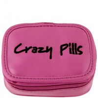 Flight 001 – Where Travel Begins. Crazy Pills Case Purple - Gifts For Her - Gift Guide