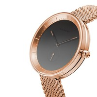 Domeni Company - Rose Gold Signature Series in Milanese Mesh