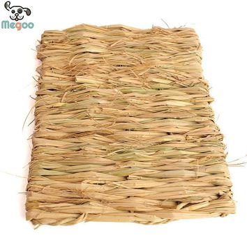 Rabbit Grass Mat Handmade Small Animal Hamster Gerbil Cage Mat S L