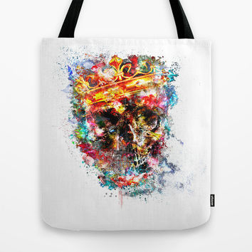 King Dusty Tote Bag by HappyMelvin