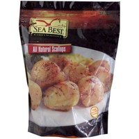 Sea Best Sea Scallops, All Natural, 1 lb - Walmart.com