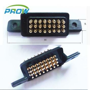 [PR] pogo pin connector  spacing 2.54mm 24P 24pin Large current Spring needle Communication digital Equipment Signal needle