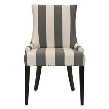 Safavieh Becca Fabric Dining Chair in Grey