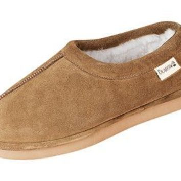 Bearpaw French Moc Slippers Wool Lined Boots/Slippers