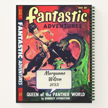 Queen of the Panther World Notebook
