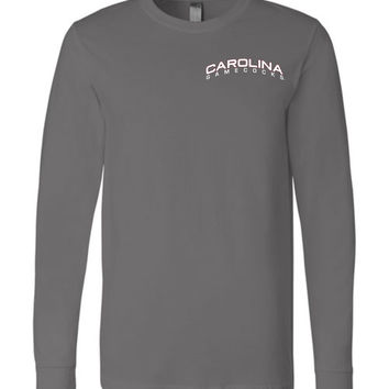 Official NCAA University of South Carolina Fighting Gamecocks USC COCKY SC Long Sleeve T-Shirt - SC1015