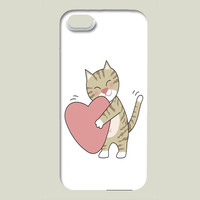 kitty in love iPhone case by olimpiawong on BoomBoomPrints