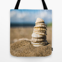Shell Tower Tote Bag by Errne