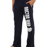 Doctor Who Logo Men's Pajama Pants