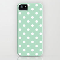 Cute Polka Dot iPhone Case iPhone & iPod Case by PinkBerryPatterns
