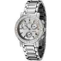 I bought this watch for it`s versatility. It is stylish and fancy without being too bling blingy....