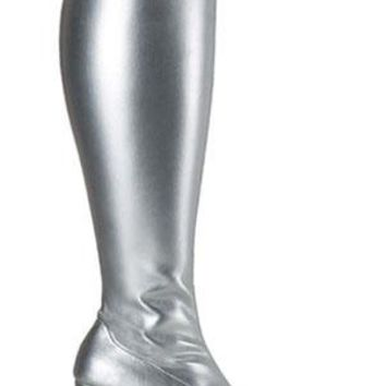Pleaser Female Wide Width Gogo Boot, 3 Inch Block Heel GOGO300X