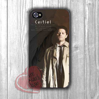 Supernatural Castiel feathers and quote -swn for iPhone 4/4S/5/5S/5C/6/ 6+,samsung S3/S4/S5,samsung note 3/4