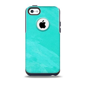 The Subtle Neon Turquoise Surface Skin for the iPhone 5c OtterBox Commuter Case
