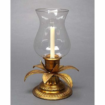 Elizabeth Marshall 41-50-1446 Antique Gold 18-Inch Palm Hurricane (Clearance Priced)
