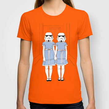 Grady twins troopers T-shirt by Cisternas | Society6