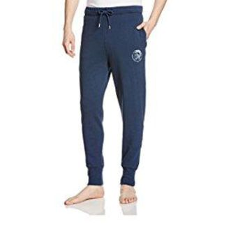 Diesel Men's Peter Mohican Lounge Pants, Navy, XXL