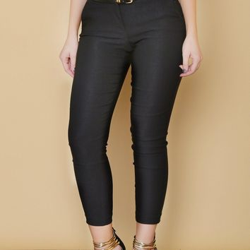 Get Down To Business Pants BLACK - RESTOCKED