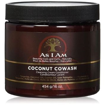 As I Am Coconut CoWash Cleansig Conditioner  16 Oz