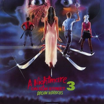 A Nightmare on Elm Street 3: Dream Warriors 27x40 Movie Poster (1987)
