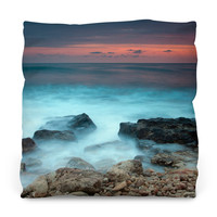 Mystic Beach Outdoor Throw Pillow