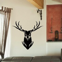 Wall Decal Vinyl Sticker Wild Animal Deer Reindeer Decor Sb425