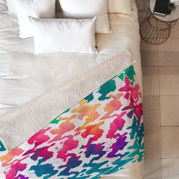 Elisabeth Fredriksson Summer Splash Fleece Throw Blanket