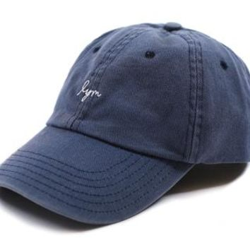 Navy Washed Denim Cap - Love Your Melon