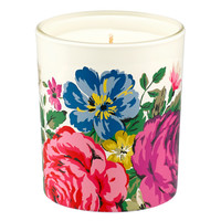 HAMPSTEAD ROSE POMEGRANATE AND CASSIS SCENTED GLASS CANDLE
