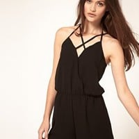 ASOS | ASOS Playsuit with Strappy Back at ASOS