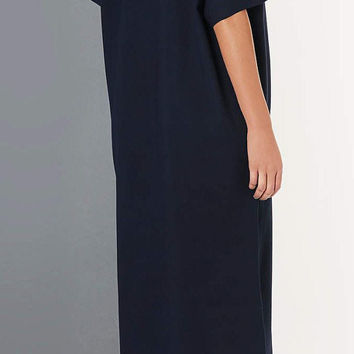 Asymmetric Extra Long Midi Tshirt Dress by Boutique Ofelya
