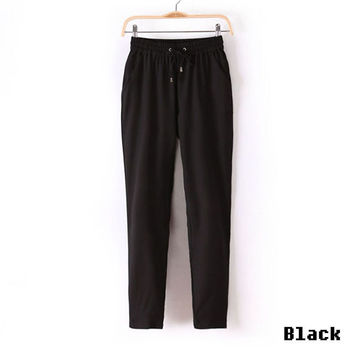 Women Pants Casual Harem Pants