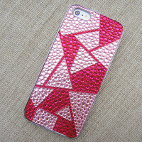 Have Fun with The Geometry Handmade Rhinestone Case for iPhone 5