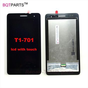 Original New T1-701U lcd For Huawei Honor Play Mediapad T1-701 T1-701W display lcd with touch screen digitizer assembly
