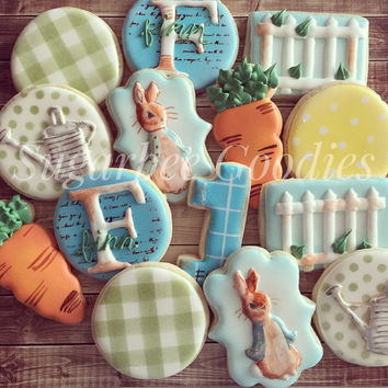 Peter Rabbit Cookies (12)