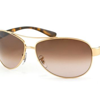 Sunglasses Ray-Ban RB3386 001/13 GOLD/HAVANA
