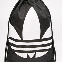 Adidas | adidas Originals Drawstring Backpack in Black at ASOS