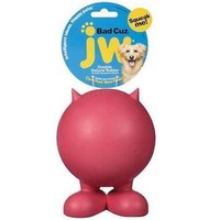 JW Pet Bad Cuz Rubber Ball Dog Toy Sz: Large